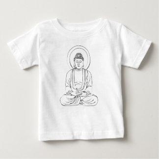 Encre Bouddha compatissant T-shirt Pour Bébé