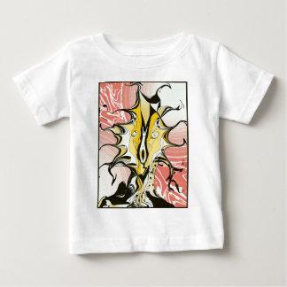 Encre et rose t-shirt pour bébé