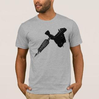 Encrez-moi T-shirt déchiré en lambeaux semi adapté