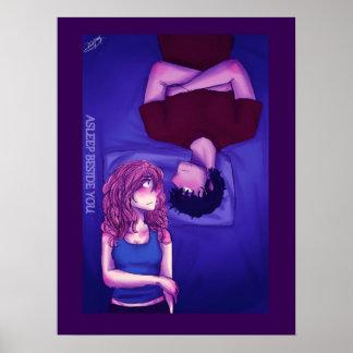 Endormi près de vous affiche 1 posters