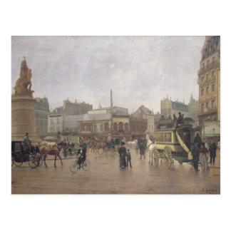 Endroit Clichy, Paris, 1896 de La Carte Postale