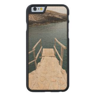 Endroit de plongée coque carved® slim iPhone 6 en érable
