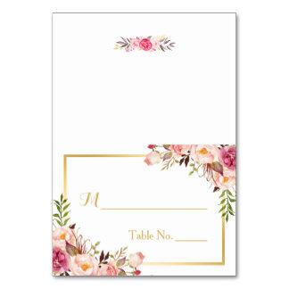 Endroit floral rose chic élégant de mariage
