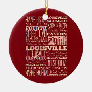 Endroits célèbres de Louisville, Kentucky Décorations De Noël