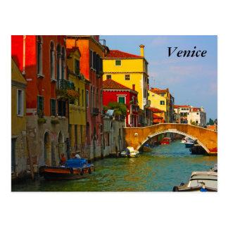 Endroits romantiques à Venise, Venise Cartes Postales