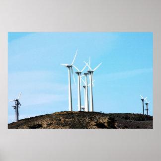 Énergie éolienne (1) affiche