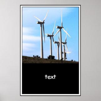 Énergie éolienne (2) affiche