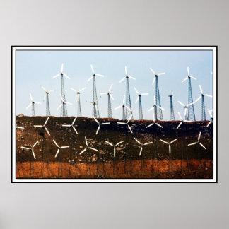 Énergie éolienne (4) posters