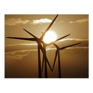 Énergie éolienne cartes postales