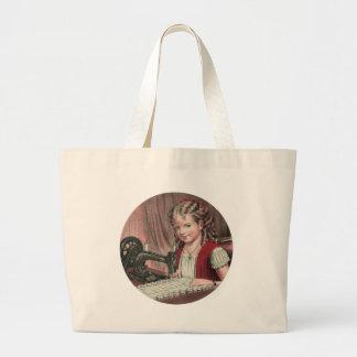 Enfant à la machine à coudre - 1872 1 sac