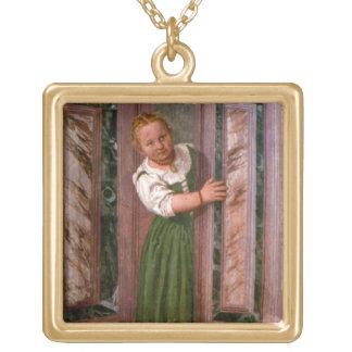 Enfant à la porte, du Sala un Crociera, à c.156 Pendentif