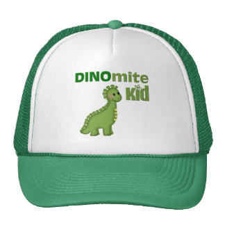 Enfant de Dinomite de dinosaure vert Casquette