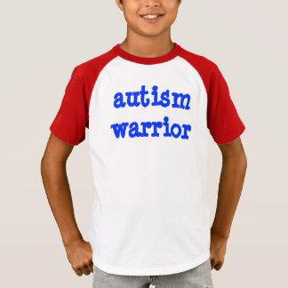 Enfant de guerrier d'autisme t-shirt