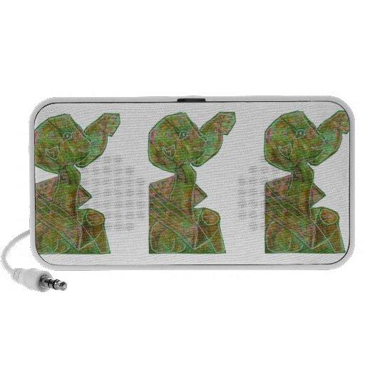 ENFANT DE HAUTE FIDÉLITÉ vert de cadeaux du Haut-parleurs Mobiles