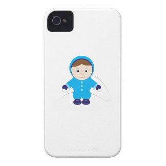 Enfant de neige coques Case-Mate iPhone 4