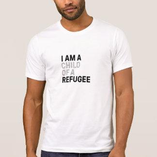 Enfant de T-shirt de réfugié