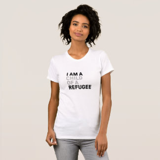 Enfant de T-shirt de réfugié, femmes