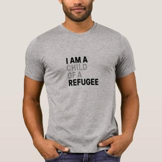 Enfant de T-shirt de réfugié, hommes