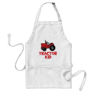 Enfant de tracteur tablier