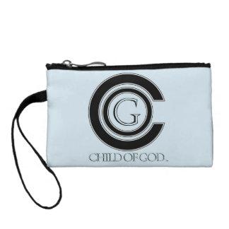 Enfant d'embrayage de pièce de monnaie de clé d'un porte-monnaie