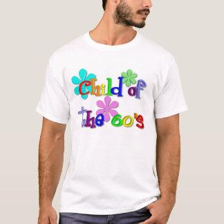 Enfant du T-shirt des années 60