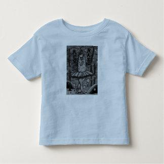 Enfant en bas âge de T-shirt de sirène