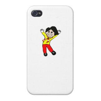 Enfant heureux étuis iPhone 4