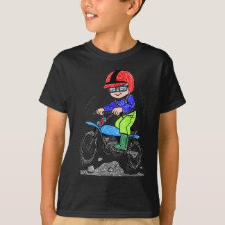 Enfant sur le vélo t-shirt