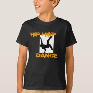 Enfant ; T-shirt de danse de hip hop de s