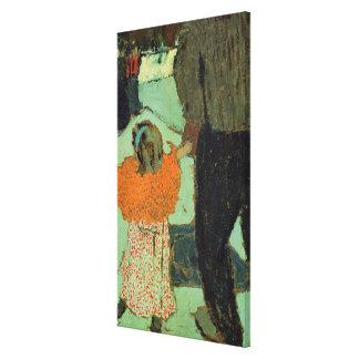 Enfant utilisant une écharpe rouge, C. 1891 Toiles