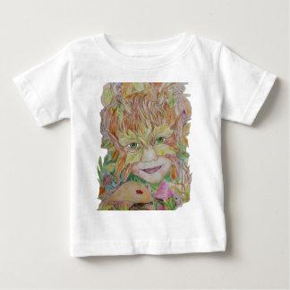 Enfant vert de natures d'enfant t-shirt