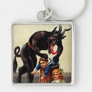 Enfants de Krampus dans le porte - clé de Noël de Porte-clés