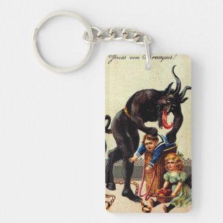 Enfants de Krampus dans Noël de vacances de Noël Porte-clés
