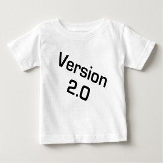 Enfants de la version 2,0/chemise infantile de t-shirt pour bébé