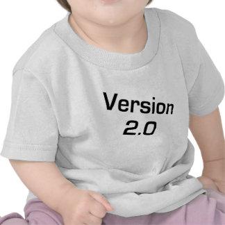 Enfants de la version 2,0/chemise infantile de t-shirt