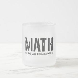 Enfants de maths et de cool mug en verre givré