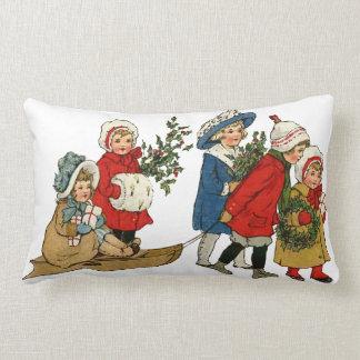 Enfants de Noël Oreiller