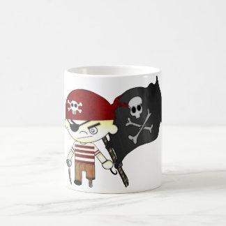 ENFANTS de pirate de voyou Mug Blanc