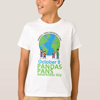 Enfants de T-shirt de jour de conscience de