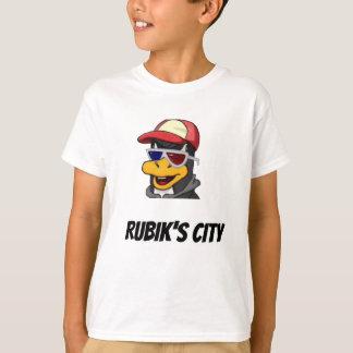 Enfants de T-shirt de Yee de la ville de Rubik