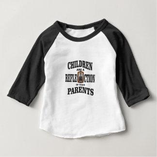 enfants des parents d'armée t-shirt pour bébé