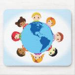 enfants du monde tapis de souris