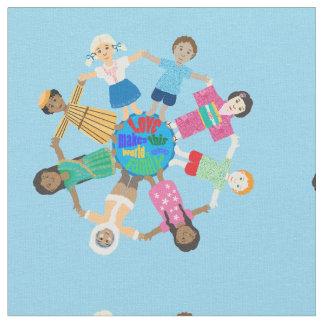 Enfants du monde tissu