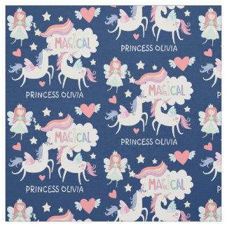 Enfants féeriques mignons de princesse et de tissu