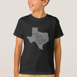 Enfants forts de T-shirt de #Texas d'enfer ou de