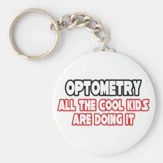 Enfants frais d'optométrie… porte-clé rond