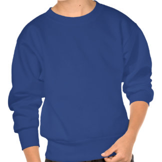 Enfants Hanes 'sweatshirt de bleu royal du Sweatshirts