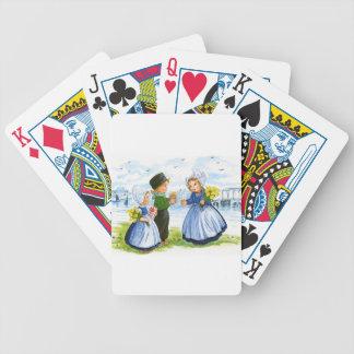 Enfants néerlandais jeu de cartes