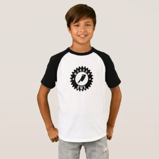 ENFANTS - pièce en t de base-ball de la confiture T-shirt