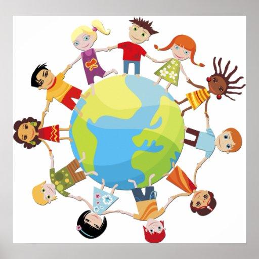 Enfants pour la paix du monde posters